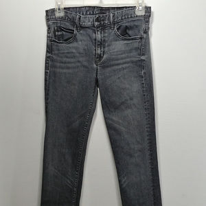 Helmut Lang 26 Slim Straight Jeans Black Wash